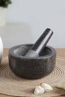 Gourmet Kitchen Granite Mortar And Pestle - 293248