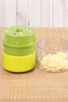 Gourmet Kitchen Manual Garlic Chopper and Nut Crusher - 293251