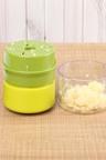 Gourmet Kitchen Manual Garlic Chopper and Nut Crusher