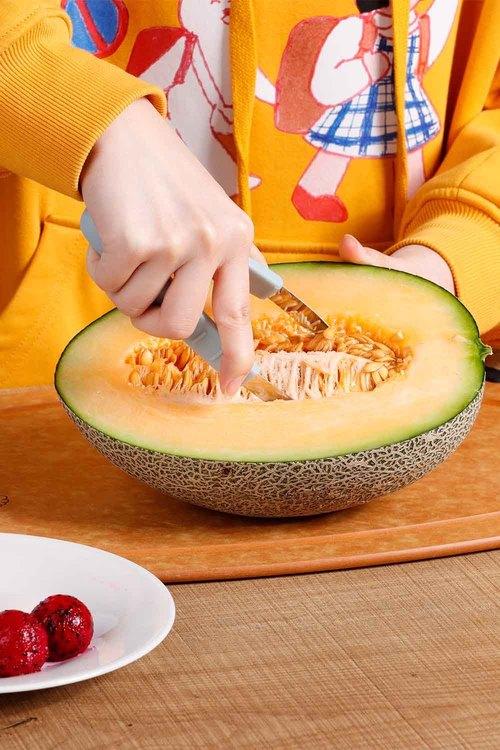Gourmet Kitchen Fruit Scoop and Melon Baller Set of 3