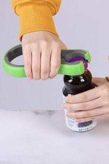 Gourmet Kitchen Easy Grip Rubber Lid and Jar Opener Tool - 293254
