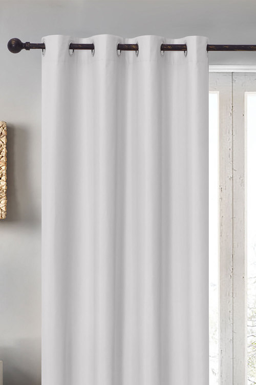 Home Living Albany Blockout Eyelet Curtain Single Panel