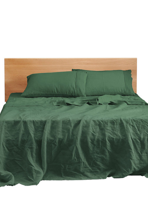 Natural Home Linen Sheet Set