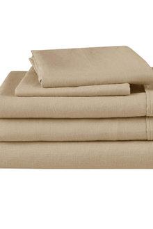 Natural Home Linen Sheet Set - 293410