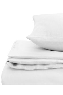 Natural Home Linen Quilt Cover Set - 293447