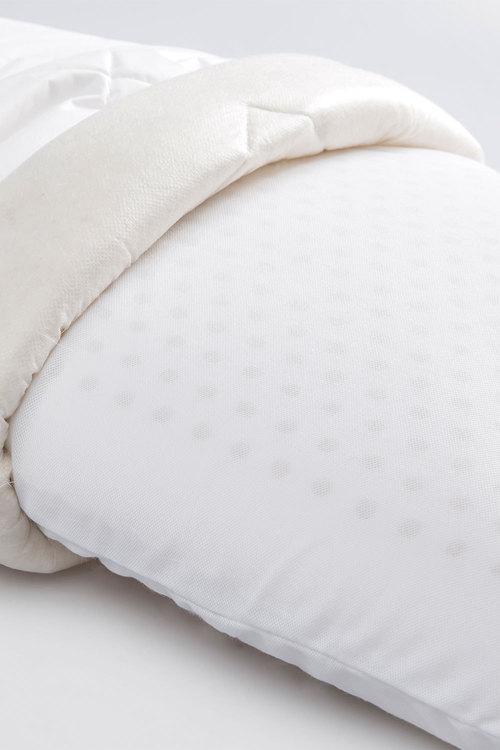 Wooltara Premium Australian Wool Surround Latex Pillow