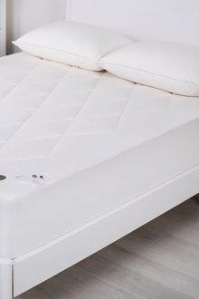 Wooltara Luxury Washable Cotton Japara Wool Rich Mattress Topper - 293454