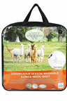 Wooltara Luxury Four Season Two Layer Washable Australian Alpaca Wool