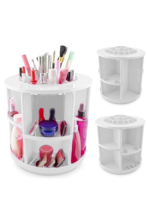 360 Degree Rotating Makeup Organiser