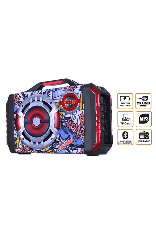 TODO Bluetooth Rechargable Speaker Box