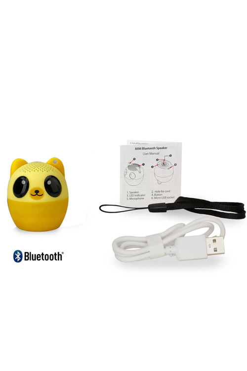 Bluetooth Mini Animal Bear Speaker