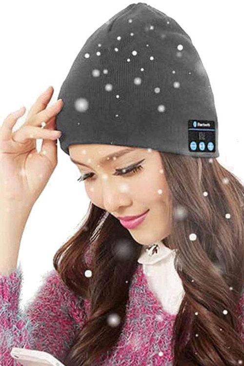 Bluetooth Handsfree Music Receiver Beanie