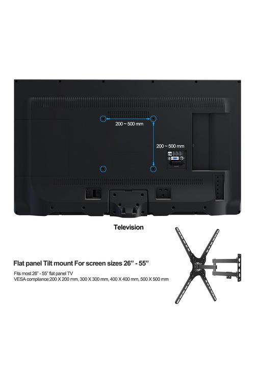 "TODO 26-55""  LED LCD TV Wall Mount Bracket"