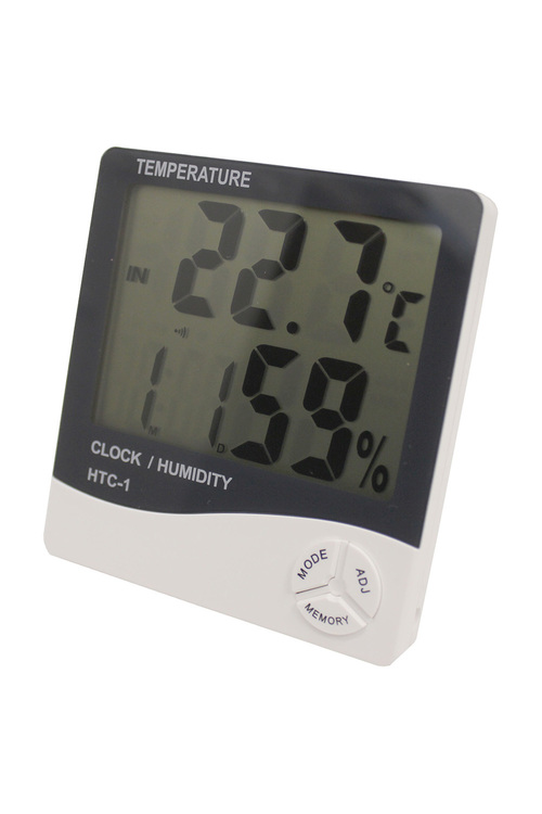 Digital Alarm Clock Thermometer Hygrometer