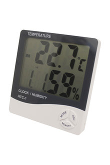 Digital Alarm Clock Thermometer Hygrometer - 293884