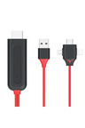 3 in 1 HDMI to Lightning Micro USB