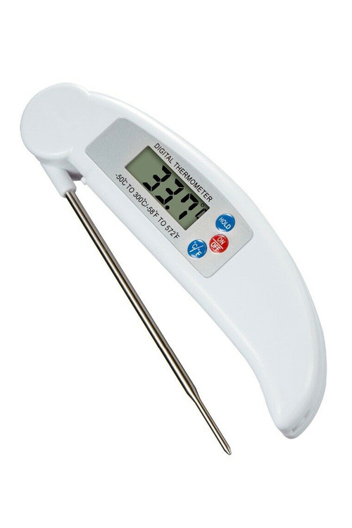 Digital LCD Display Food Thermometer