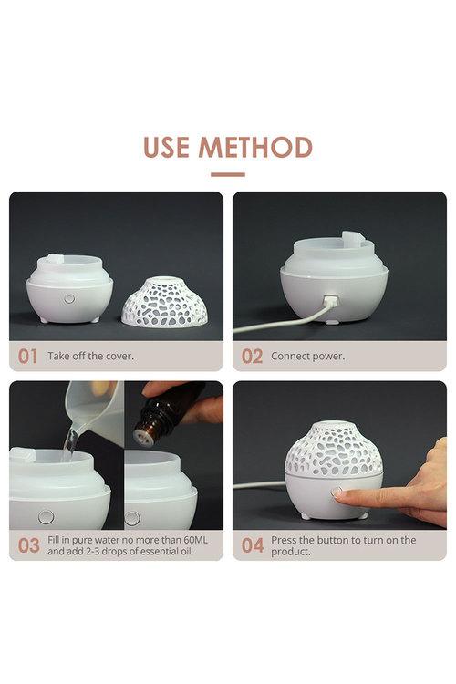 TODO 60ml Humidifier Aromatherapy Diffuser