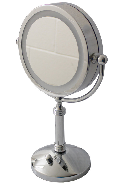 """TODO 7"""" Led Backlit Cosmetic Make Up Mirror 1X / 5X Magnification"""