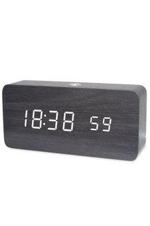 TODO LED Digital Alarm Clock Woodgrain - 293933