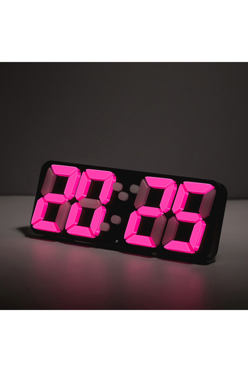 TODO 3D LED Digital Alarm Clock with Remote