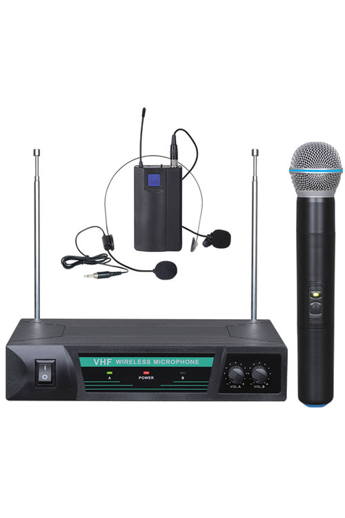 TODO Wireless Microphone Handheld + Headset Mic - HL52