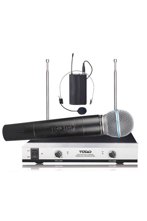 TODO Wireless Microphone Handheld + Headset Mic  - HL61