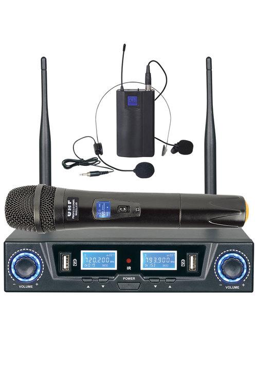 TODO Microphone Dual Channel Mic + Headset Hl303U