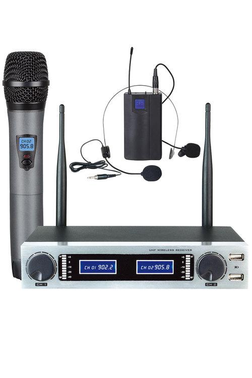 TODO Microphone Dual Channel Mic + Headset Hl502U