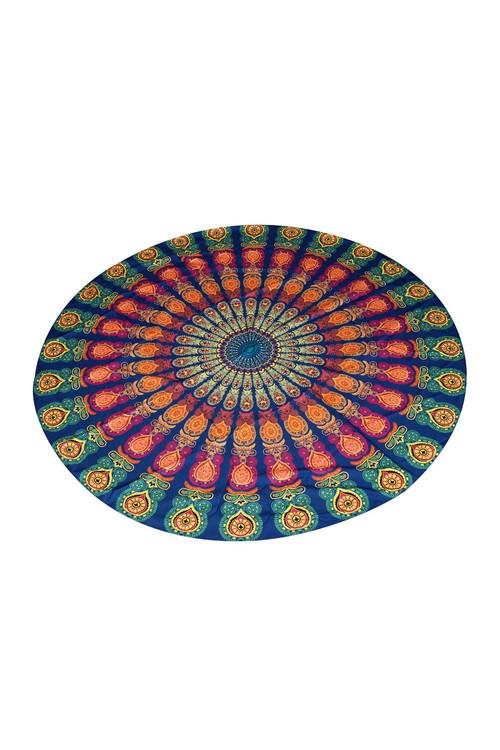 TODO Luxury Edition Color Print Beach Throw Yoga