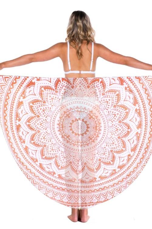 TODO Luxury Edition Print Beach Throw Yoga