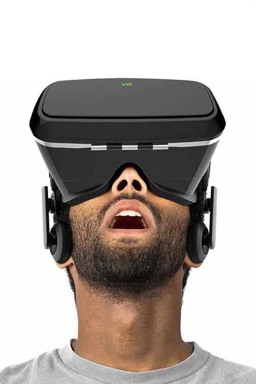 VR Storm Headset Glasses 3D Box