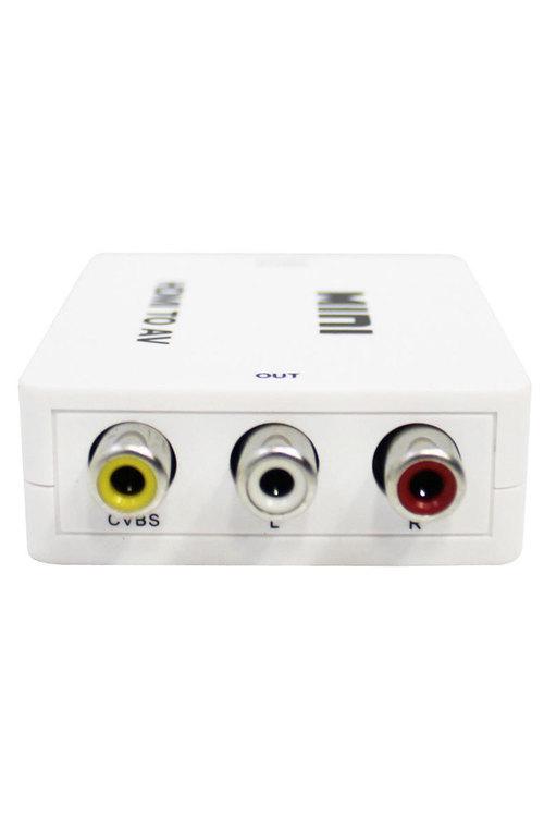 Hdmi To Av Video Converter Adaptor