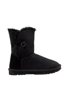 Comfort Me Australian Made Mid Bailey Button Ugg Unisex Boots - 294073