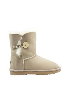 Comfort Me Australian Made Mid Bailey Button Ugg Unisex Boots Sand - 294077