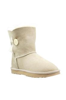 Comfort Me Australian Made Mini Bailey Button Ugg Unisex Boots Sand - 294088