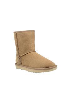Comfort Me Chestnut Mid Classic Sheepskin Unisex Boots - 294148