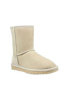 Comfort Me Sand Mid Classic Sheepskin Unisex Boots - 294150