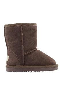Comfort Me Ugg Kids Classic Unisex Boots Bea Chocolate - 294219