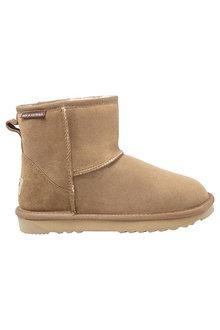 Comfort Me Gripper Dots Baby UGG Unisex Boots Chestnut - 294233