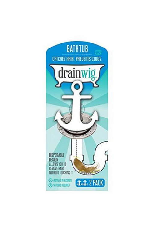 Simply Wholesale Drainwig For The Bathtub 2 Pack