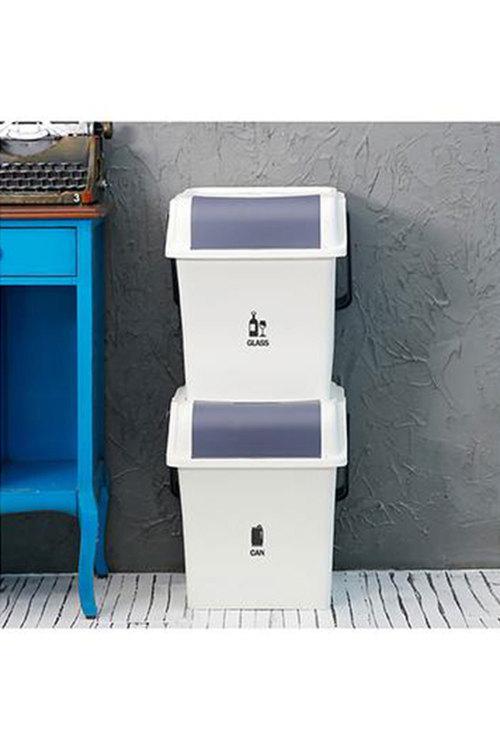 Simply Wholesale 2 Pcs Recycle Bin