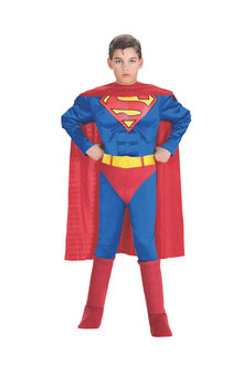 Rubies Superman Muscle Chest Costume - 294586