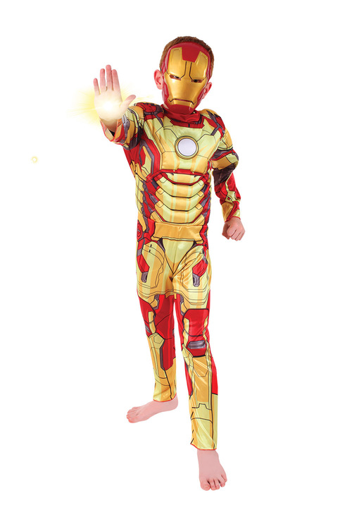 Rubies Iron Man To Iron Patriot Reversible