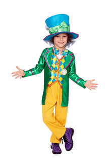 Rubies Mad Hatter Boys Deluxe Costume - 294622