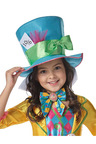 Rubies Mad Hatter Girls Deluxe Costume