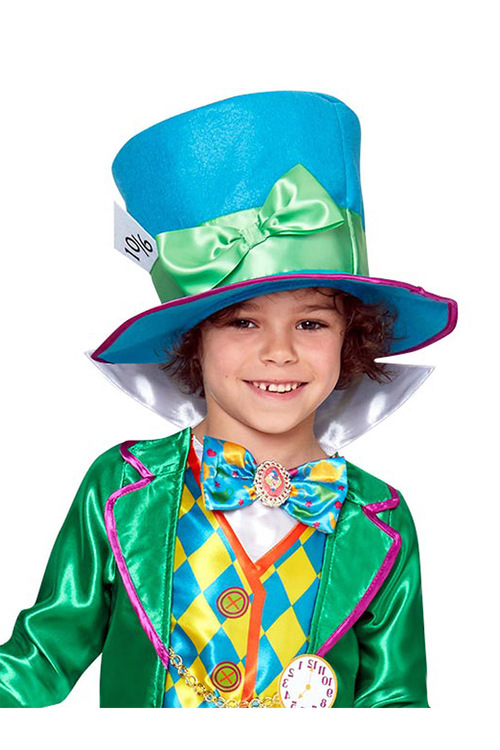 Rubies Mad Hatter Boys Deluxe Costume