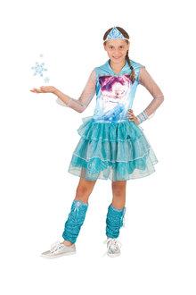 Rubies Elsa Hooded Dress - 294637