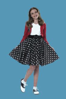 Rubies Polka Dot Rocker Child Costume - 294649