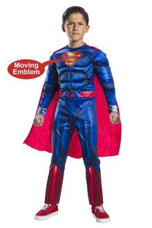 Rubies Superman Deluxe Lenticular Costume - 294747